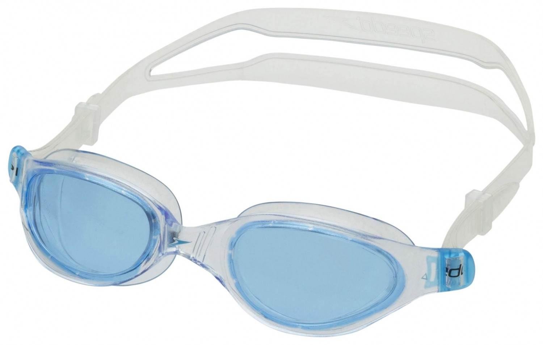 Speedo Futura Plus Schwimmbrille (Farbe: 3537 clear/blue)