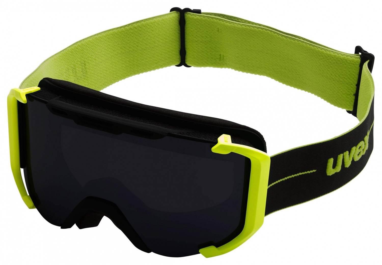 uvex Snowstrike Litemirror Skibrille (Farbe: 2726 black/lime)