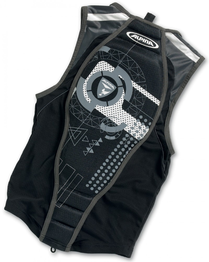 Schipkau Schipkau Angebote Alpina Jacket Soft Protektor II (Größe: XL = Körpergröße ca. 185 cm, 31 schwarz/weiß)