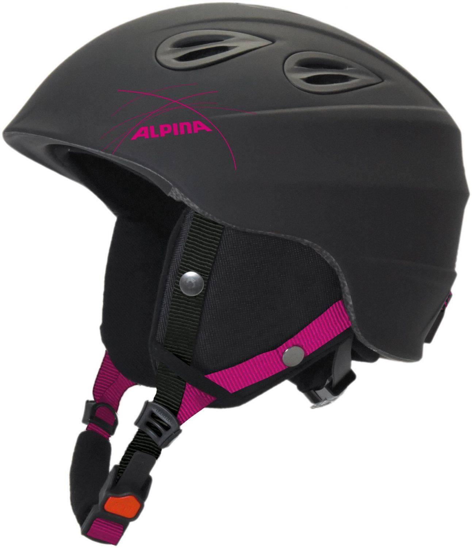 Alpina Junta 2.0 Skihelm (Größe: 57-61 cm, 31 schwarz/pink matt) 4003692283191 blauer-urlaub.de