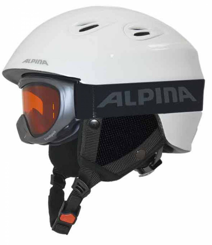 Alpina-Junta-Set-Skihelm-mit-Skibrille