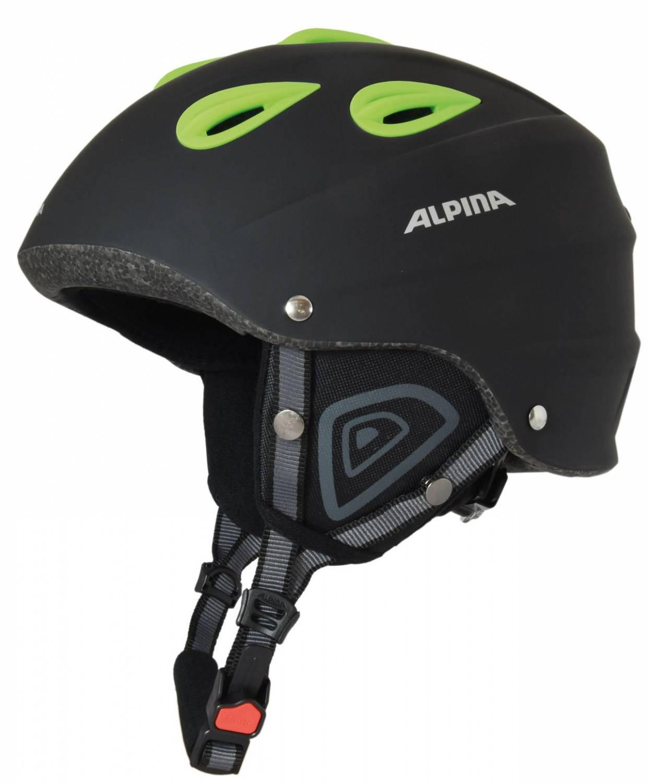 Alpina Junta 2.0 C Skihelm (Kopfumfang: 57-61 cm, 20 black matt green) Sale Angebote