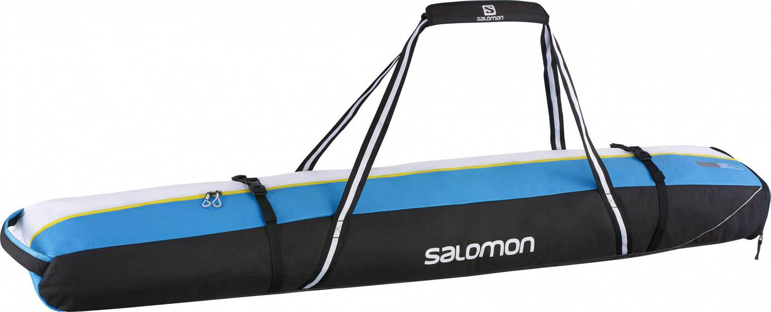 Salomon Extend Skisack 2 Paar 175+20 (Farbe: black/process blue/white)