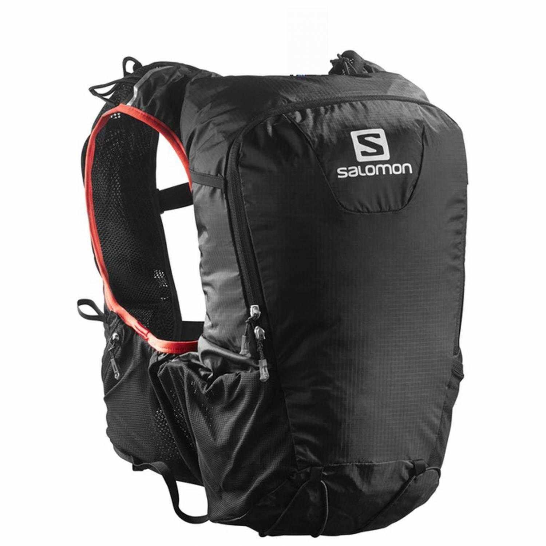 Salomon Skin Pro 15 Set Rucksack (Farbe: black/red) Preisvergleich