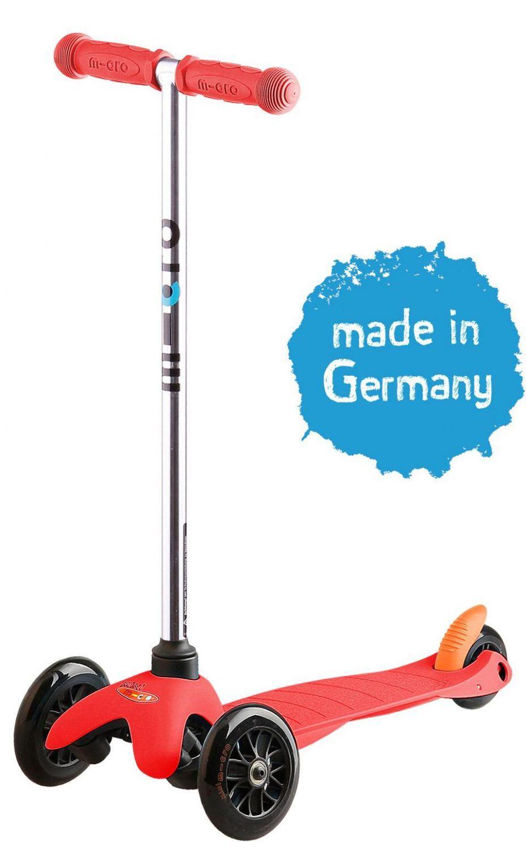 Guteborn Angebote Micro Kickboard Mini Sporty (Farbe: rot)