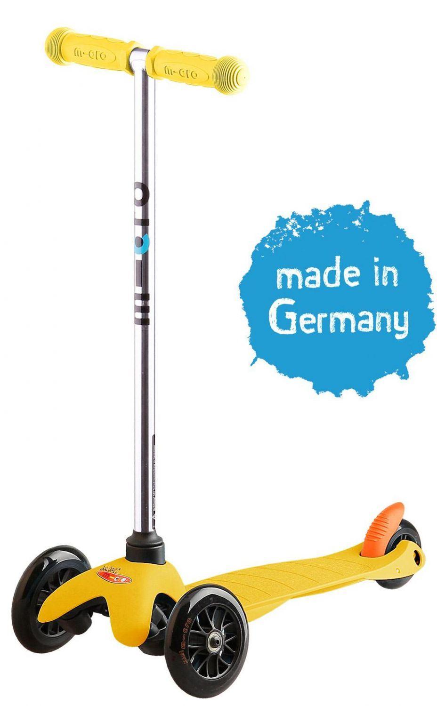 Micro Kickboard Mini Sporty (Farbe: gelb)