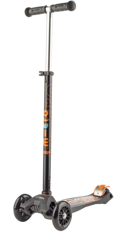 Micro Kickboard Maxi deluxe mit T-Lenker (Farbe: schwarz) Sale Angebote