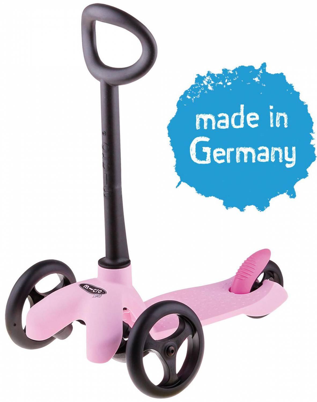 Micro Microlino Kinderkickboard (Farbe rosa)