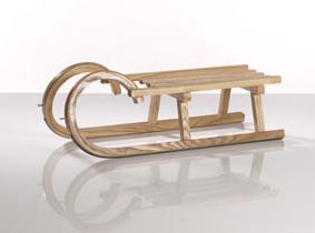 Sirch Minirodel Esche mit Lattensitz (Länge: 68 cm, esche lackiert) Sale Angebote Haasow