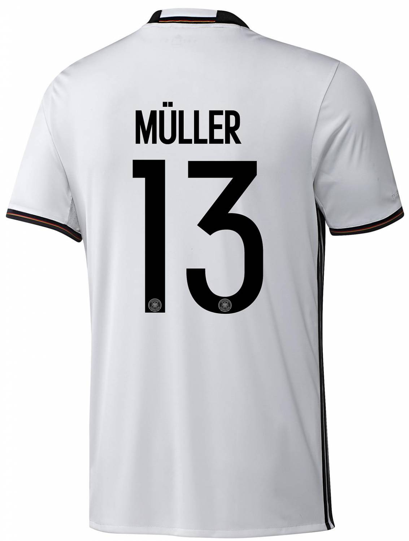 adidas DFB Home Jersey Kinder Müller (Größe 128, white)
