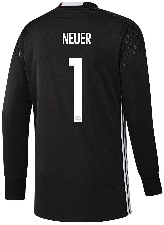 adidas DFB Goalkeeper Jersey Neuer (Größe: XL, black ...