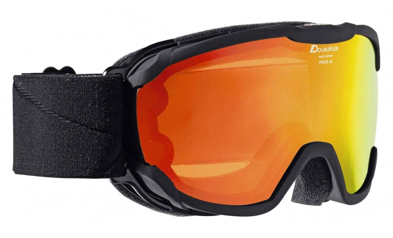 Alpina Pheos Junior Multimirror Skibrille (Farbe: 831 schwarz, Scheibe: MULTIMIRROR orange) Sale Angebote Kathlow