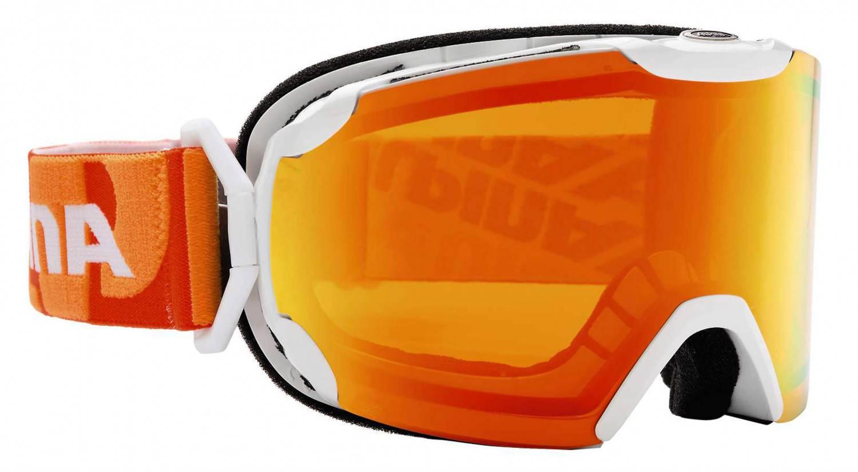 Alpina Pheos MM Skibrille (Farbe: 881 weiß, Scheibe: MULTIMIRROR rot) Sale Angebote Grunewald