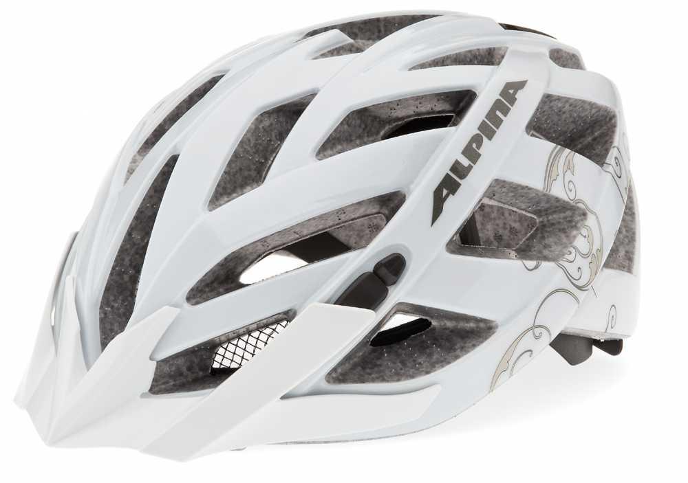 Alpina Fahrradhelm Panoma (Größe: 52-57 cm, 12 weiß/prosecco)