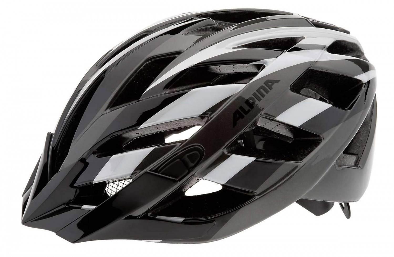Alpina Fahrradhelm Panoma (Größe: 56-59 cm, 35 black/titanium/white) Preisvergleich