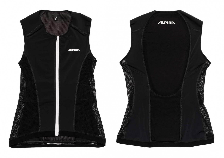 Alpina Jacket Soft Protector Women Vest (Größe: L = Körpergröße ca. >180 cm, 30 black) Preisvergleich