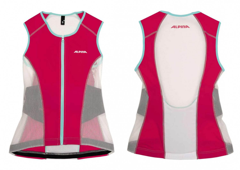 Alpina Jacket Soft Protector Women Vest (Größe: M = Körpergröße ca. 175 bis 180 cm, 13 whi Preisvergleich