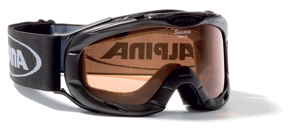 Alpina Ruby S Skibrille (Farbe: 433 schwarz, Scheibe: SINGLEFLEX) Preisvergleich
