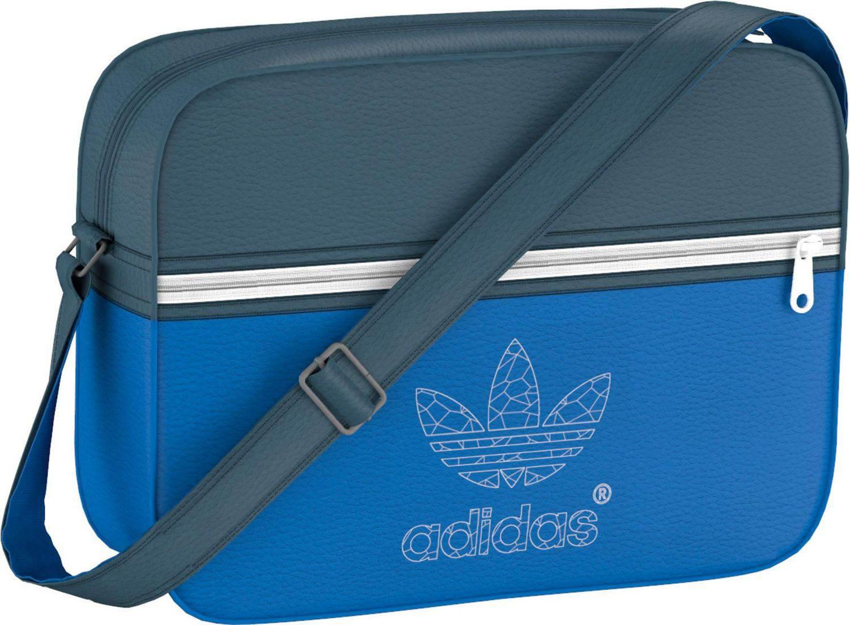 adidas Airliner Classic Street Tasche (Farbe  bluebird dark marine white) d19e9b2cb588f