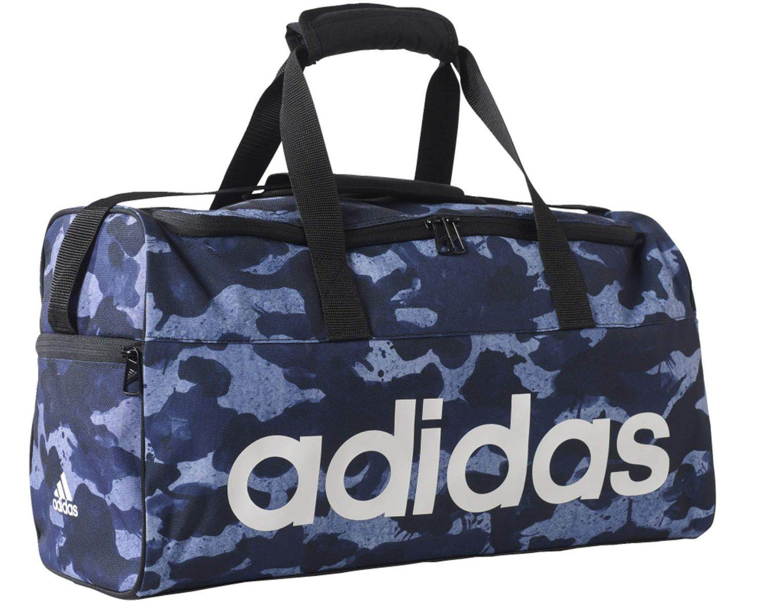 adidas Linear Performance Teambag S Graphic (Farbe: tactile blue s17/collegiate navy/white)