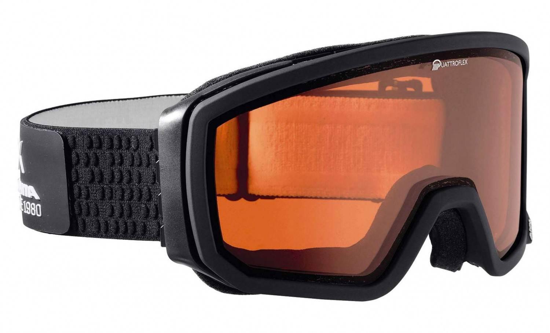 Alpina Skybird Skibrille (Farbe: 021 silber, Scheibe: QUATTROFLEX)