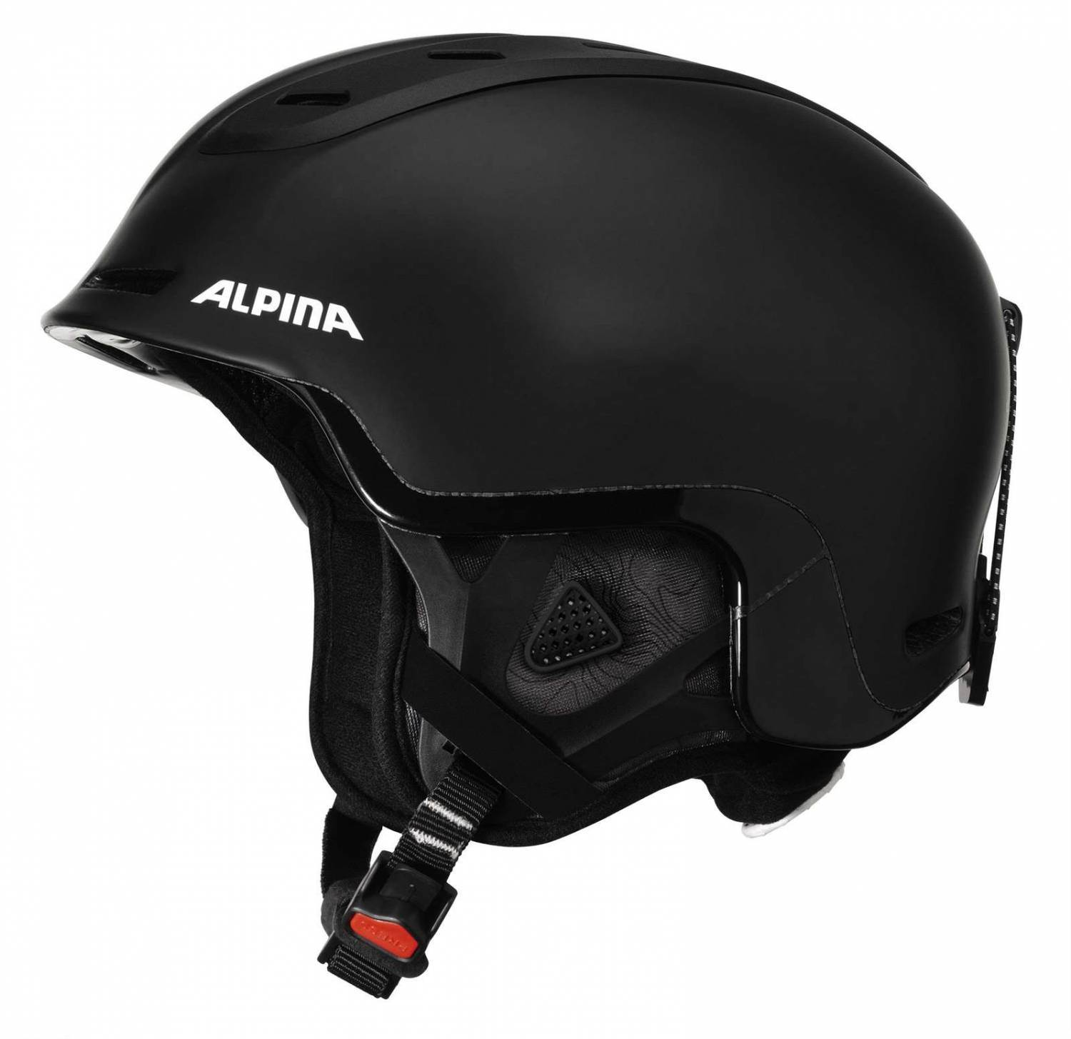 alpina spine freeride skihelm gr e 58 61 cm 33 grey black. Black Bedroom Furniture Sets. Home Design Ideas