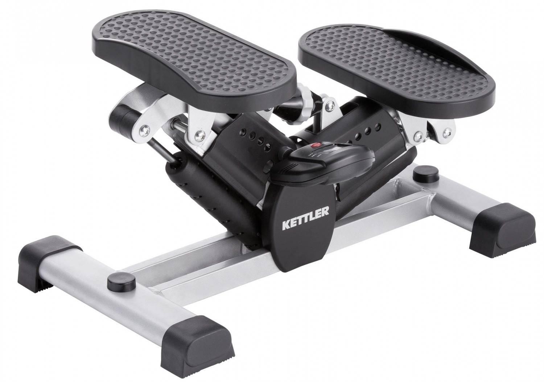 Kettler Side Stepper Fitnessgerät (Farbe: 950 silber/schwarz)