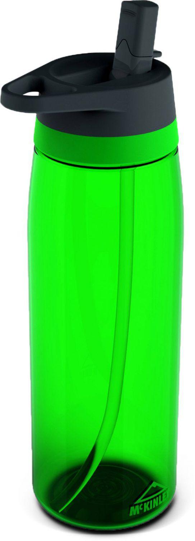 McKinley Tri Flip Trinkflasche mit Trinkhalm 0,75 Liter (Farbe: 763 grün)