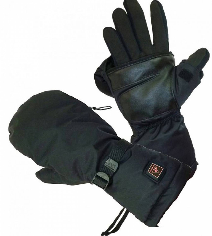 beheizbarer Fausthandschuh Alpenheat Fire-Mitten (Größe: XL, schwarz) - broschei