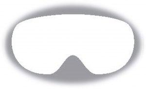 Alpina Ersatzscheibe für Skibrille (Scheibennummer: 153 = Artikel A7257954 Scheibe: MULTIMIRROR pink für Modell SCARABEO Junior)