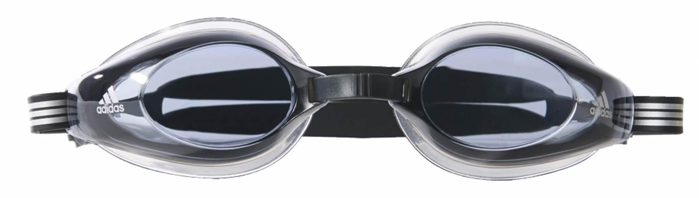 adidas Aquastorm Schwimmbrille (Farbe: black/transparent/smoke lenses) Preisvergleich