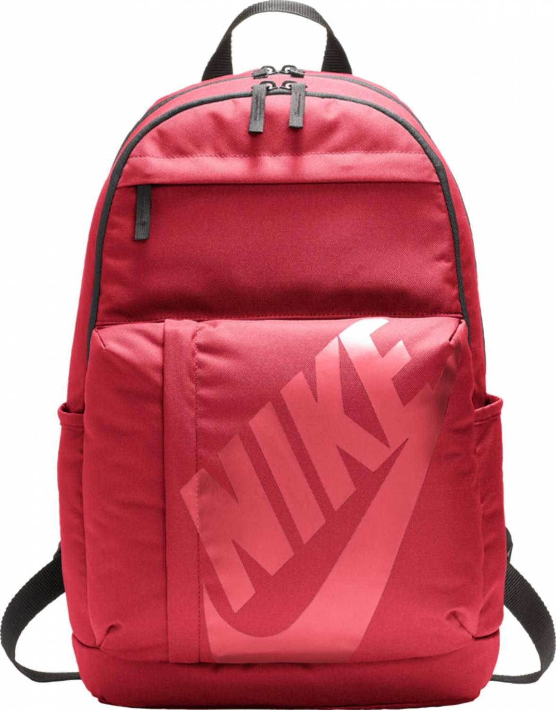 Nike Sportswear Elemental Rucksack (Farbe: 620 rot/schwarz/bordeaux)