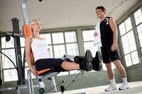 Fitnessgeräte, bleiben Sie gesund
