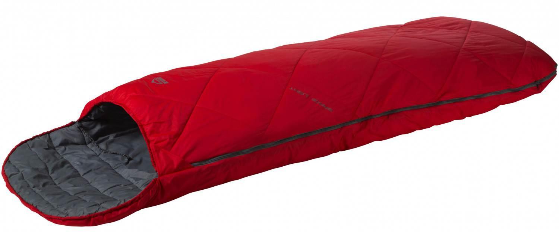 McKinley Space Light Deckenschlafsack (Reißverschluss: rechts, Farbe: 903 rot/dunkelgrau)