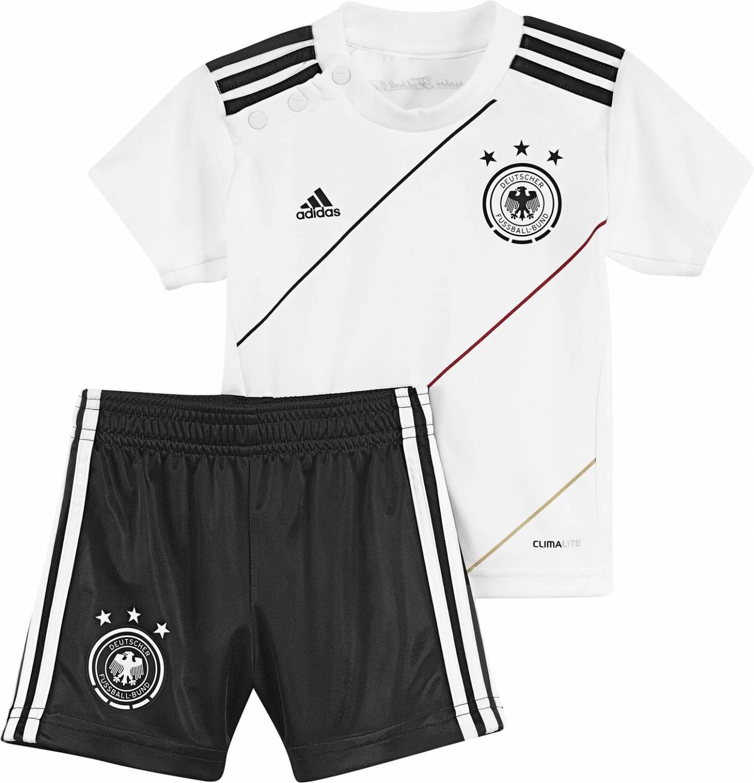 adidas DFB Home Baby Kit (Größe 74, weiß schwarz)