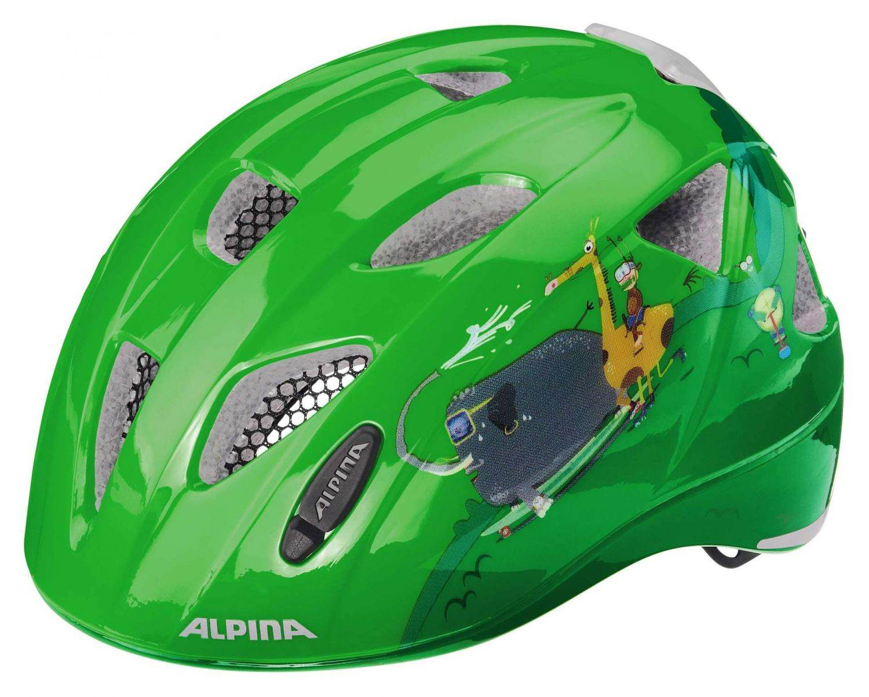 Alpina Ximo Flash Kinderfahrradhelm (Größe 45 49 cm, 70 race day)