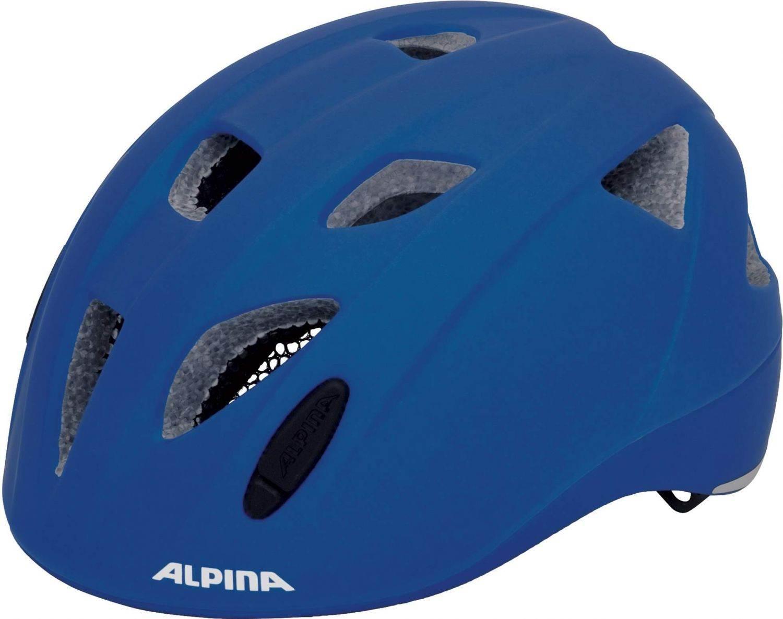 Alpina Ximo LE Kinder Fahrradhelm (Größe: 45-49 cm, 80 blau matt) Preisvergleich