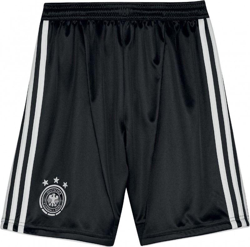 adidas DFB Heimshort Youth (Größe: 164, schwarz/weiß)