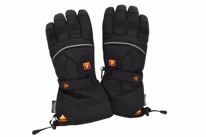 Alpenheat Fire-Glove beheizbare Handschuhe (Größe: XXL (Größe 11), anthrazit) - broschei