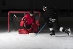 Eishockeyschläger, für den schnellen Mannschaftssport