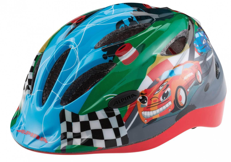 Alpina Gamma 2.0 Flash Kinderfahrradhelm (Größe 46 51 cm, 12 racing)