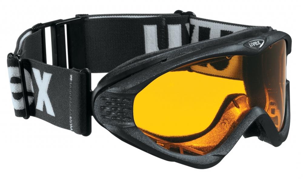 uvex Skibrille Onyx (Farbe: 2229 black metallic, lasergold lite/clear) Preisvergleich