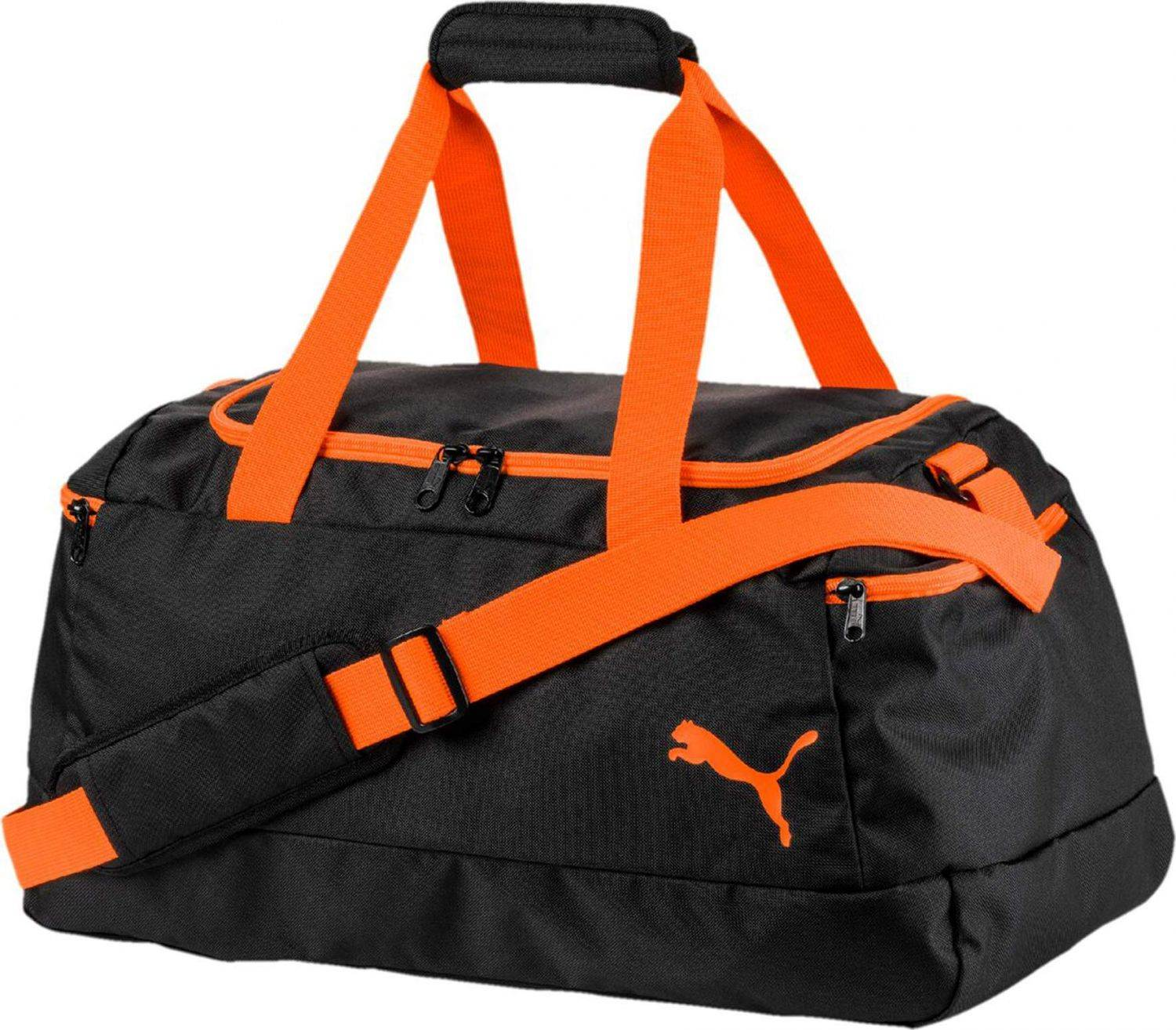 puma-teambag-pro-training-ii-ka-tasche-farbe-001-black-shocking-orange-