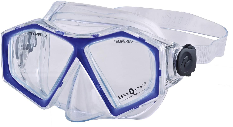 Neu-Seeland Angebote Aqua Lung Santa Cruz Pro Tauchmaske (Farbe: 112 - 0040 transparent/blue)