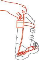 Schuhwärmer Akkus, ideal für den Wintersport