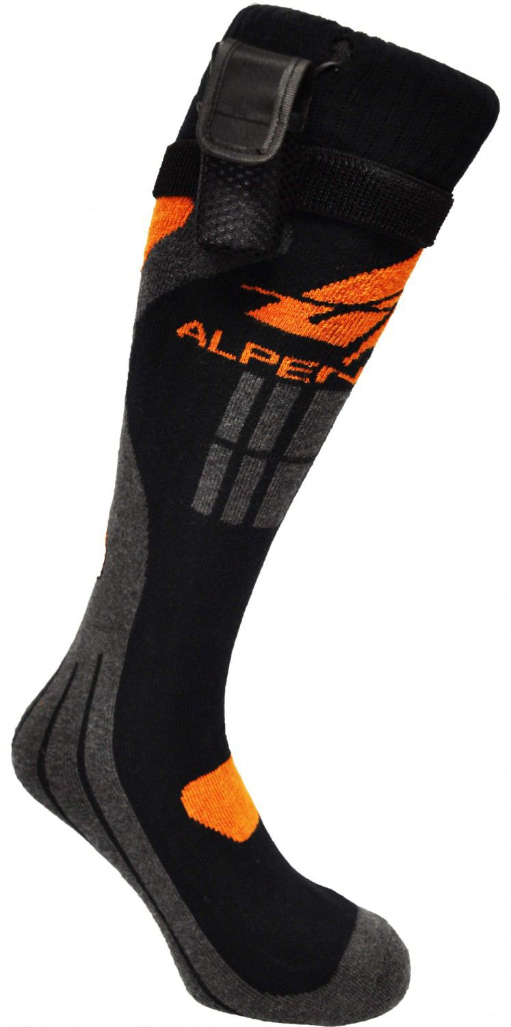 Alpenheat beheizbare Socken Fire Sock Cotton (Größe: XL (45-48), multicolor)
