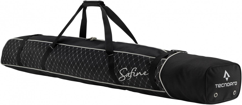 TecnoPro Skisack Cover Carving Safine 1 Paar (Farbe: 900 schwarz/silber)