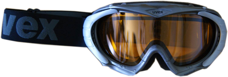 uvex Skibrille Tomahawk (Farbe: 5129 anthracite metallic, double lens, Scheibe: gold lite  Preisvergleich