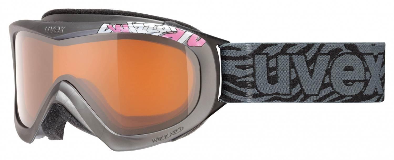 Schipkau Meuro Angebote uvex Wizzard DL Skibrille (Farbe: 5122 anthracite, double lens, lasergold)