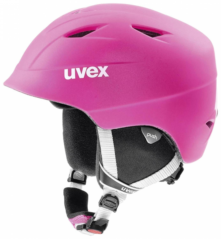 uvex Airwing 2 Pro matt Kinderskihelm (Größe 52 54 cm, 92 pink mat)